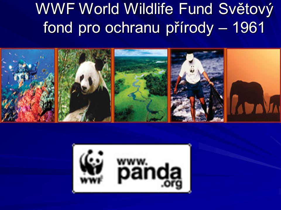 WWF World Wildlife Fund Světový fond pro ochranu přírody – 1961