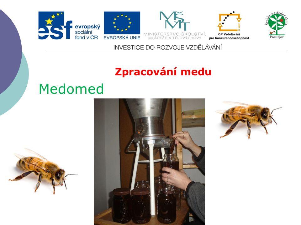 Zpracování medu Medomed