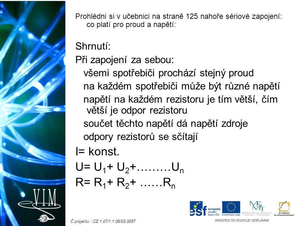 Č.projektu : CZ.1.07/1.1.06/03.0057 Fyzika pracovní sešit pro ZŠ a víceletá gymnázia Fraus: str.: 47/1, str.:48/2, 3.