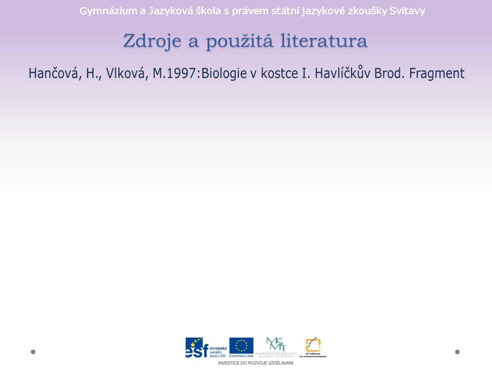 Gymnázium a Jazyková škola s právem státní jazykové zkoušky Svitavy