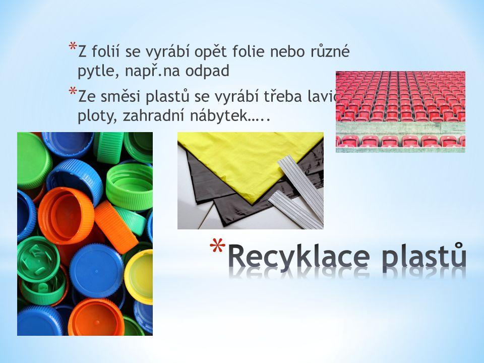 Patří do něj: plastové lahve, sáčky, folie, výrobky z plastu, polystyren Nepatří do něj: plastové trubky, lina, koberce, nádoby o d olejů a nebezpečných látek, obaly se zbytky potravin