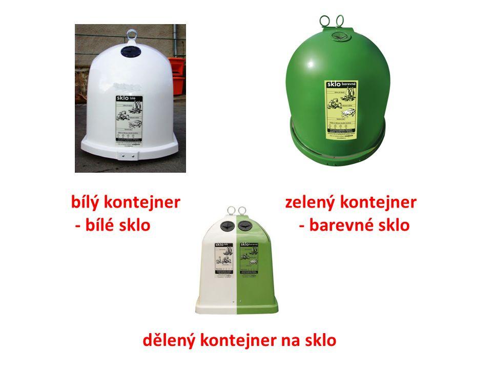 baterie – zelený box ve spojovací chodbě drobné elektrospotřebiče – červená popelnice ve spojovací chodbě víčka od plastových lahví – 3x ročně vyhlášen sběr tonery a cartridge – kartonový box ve spojovací chodbě