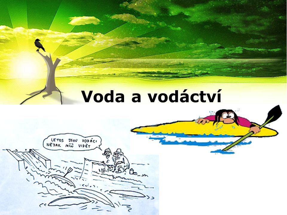 Voda a vodáctví