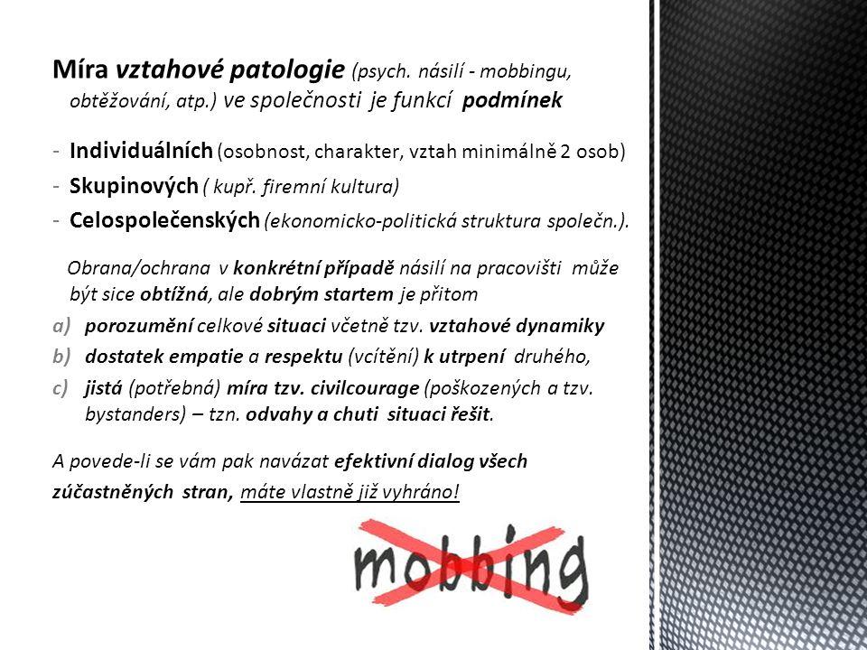 Míra vztahové patologie (psych.