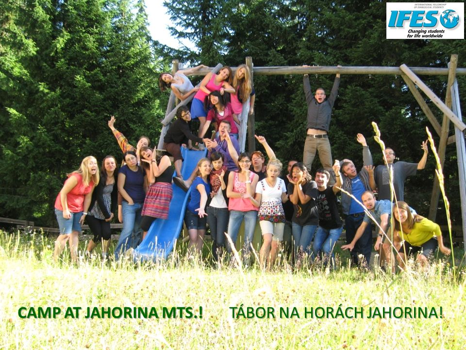 CAMP AT JAHORINA MTS.! TÁBOR NA HORÁCH JAHORINA!