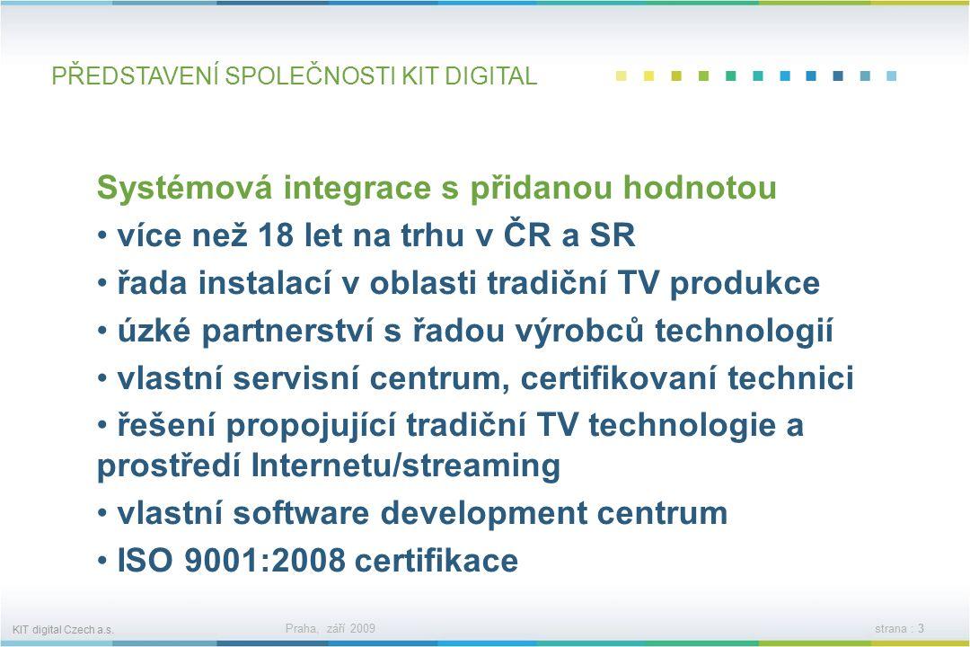 KIT digital Czech a.s.