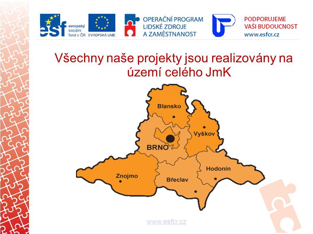 Rozpočty projektů - ukazatele www.esfcr.cz