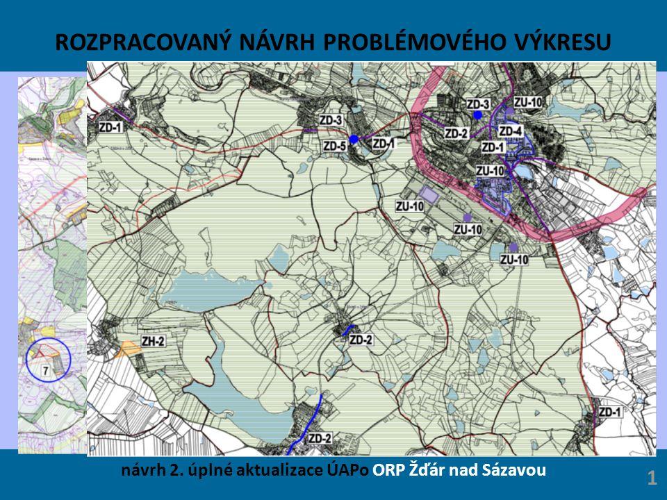 ROZPRACOVANÝ NÁVRH PROBLÉMOVÉHO VÝKRESU návrh 2. úplné aktualizace ÚAPo ORP Žďár nad Sázavou 1