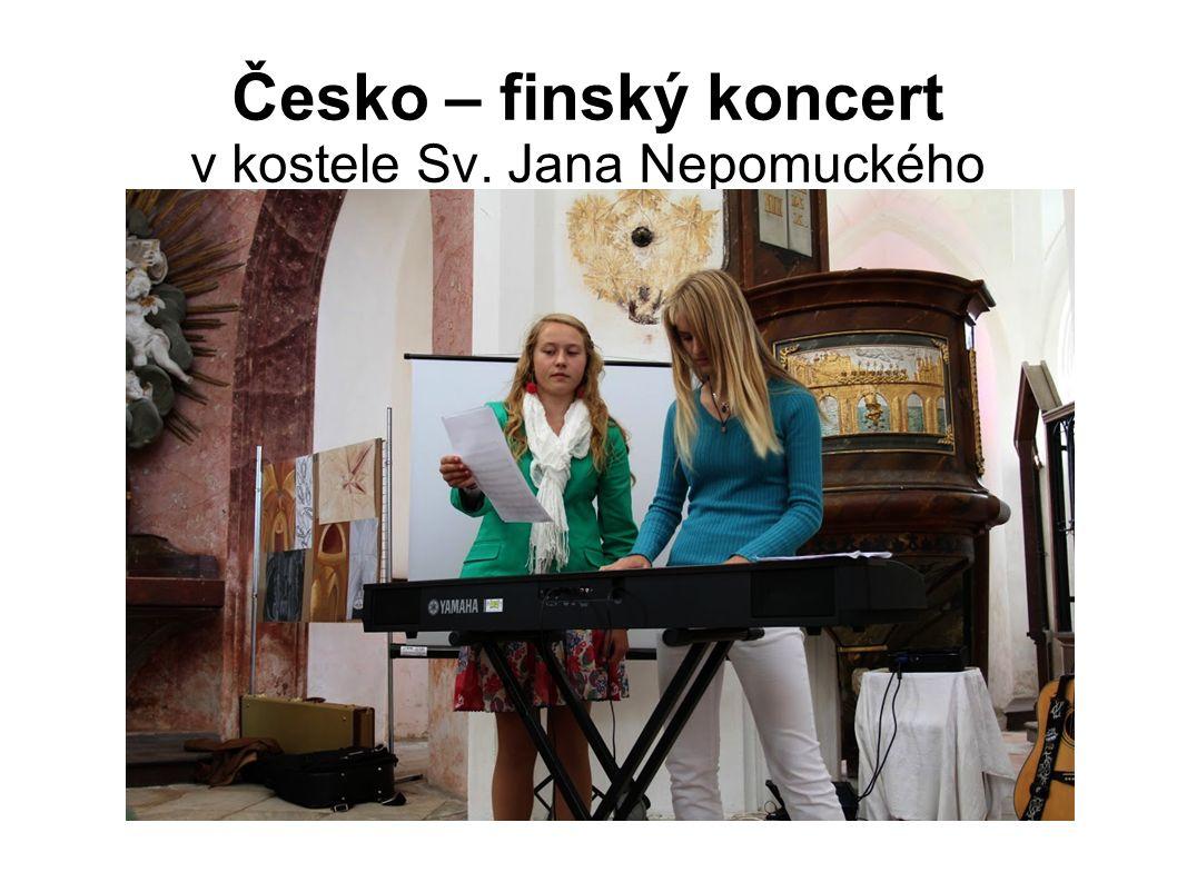 Česko – finský koncert v kostele Sv. Jana Nepomuckého