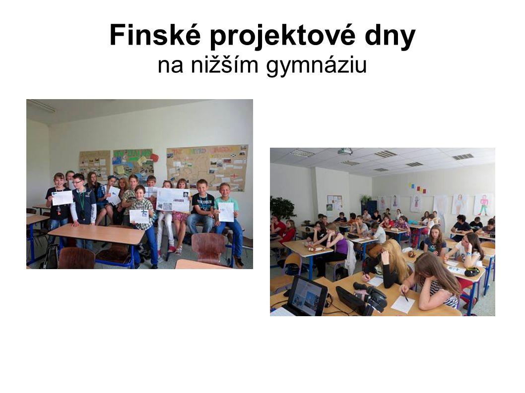 Finské projektové dny na nižším gymnáziu