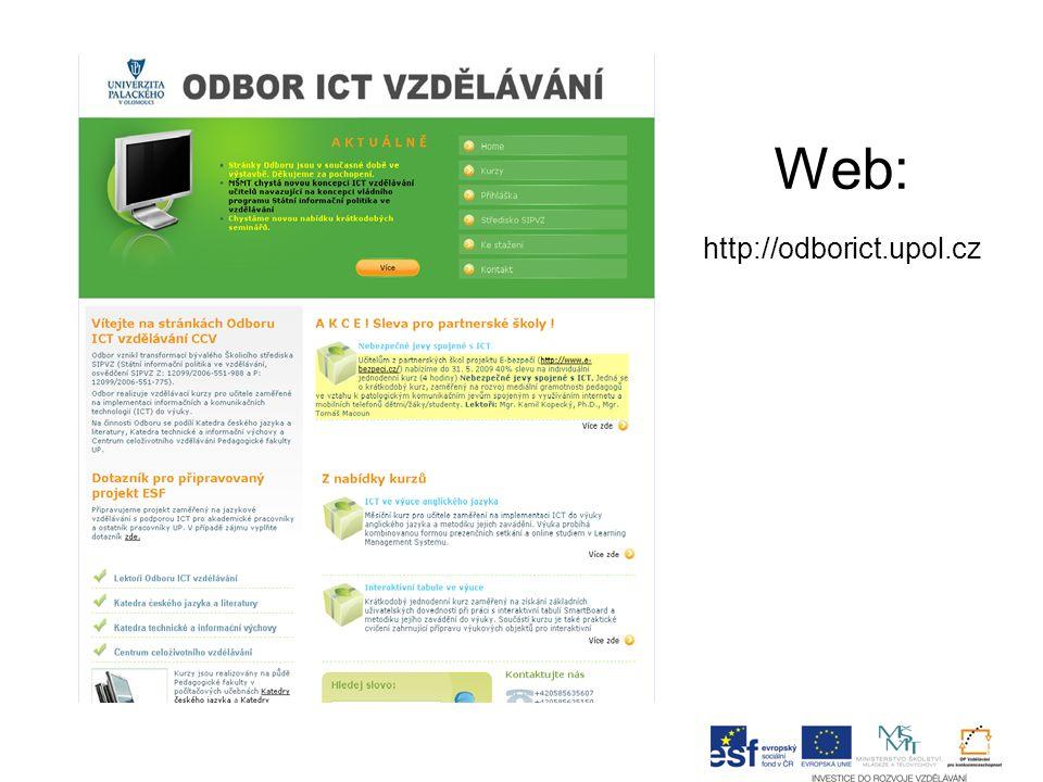 Web: http://odborict.upol.cz