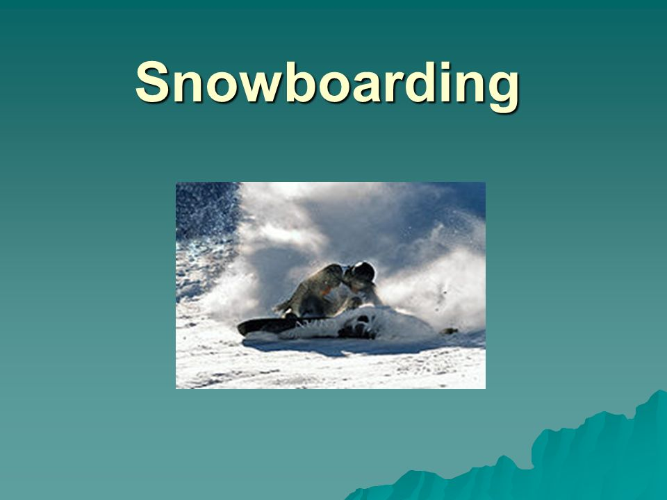 Snowboardové disciplíny Free disciplíny (měkké vázání)  half-pipe (U-Rampa) half-pipe  quarter-pipe quarter-pipe  slopestyle slopestyle  big air big air big air  jibbing (jízda po zábradlí)  freeride (jízda mimo sjezdovky)  backcountry (freestyle mimo sjezdovky)  snowboardercross snowboardercross