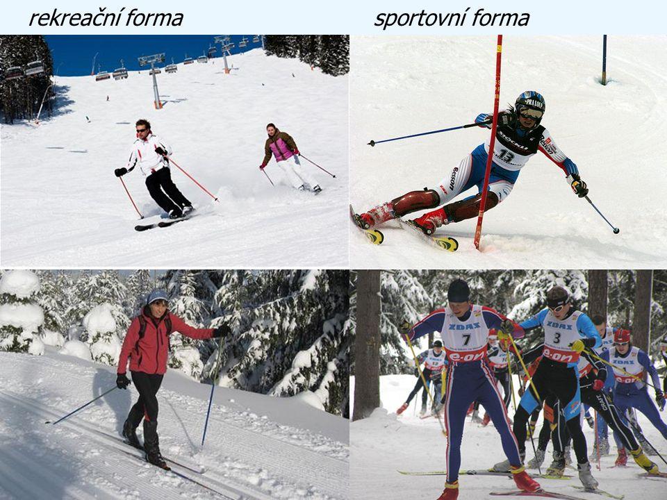 rekreační forma sportovní forma