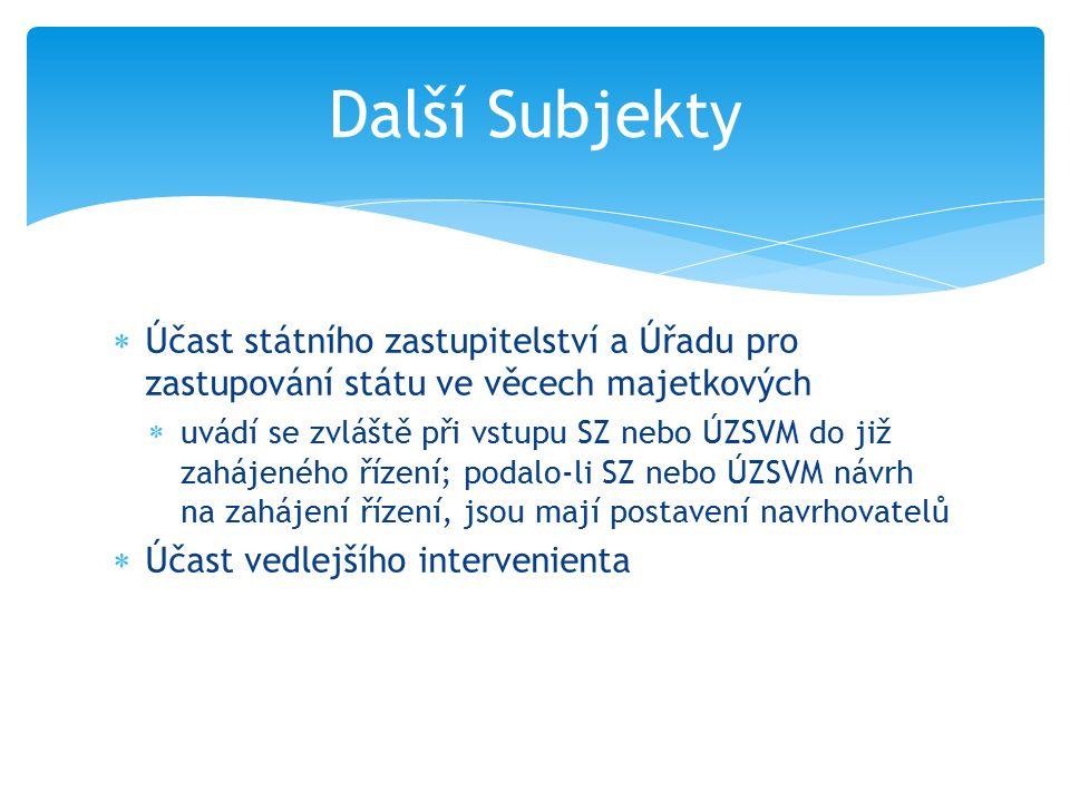Účastníci a jejich zástupci  Více žalobců se označuje malými písmeny  …žalobců a) Adalberta Kolínského, nar.