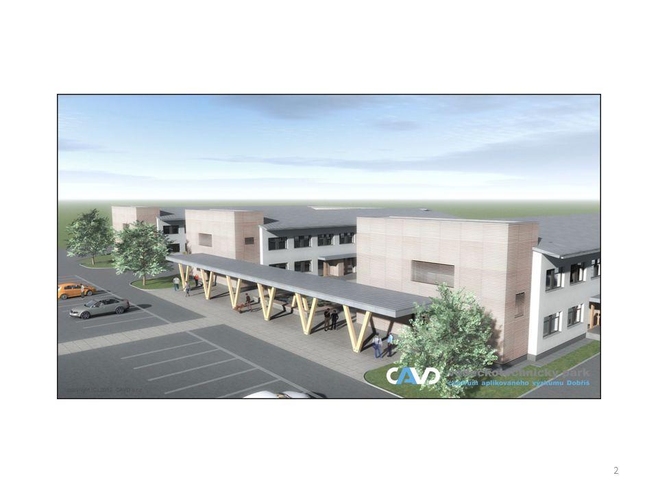 3 CAVD (Centrum aplikovaného výzkumu Dobříš) Technologický park a podnikatelský inkubátor zaměřený na: Obnovitelné energetické zdroje a optimalizaci jejich užití v praxi.