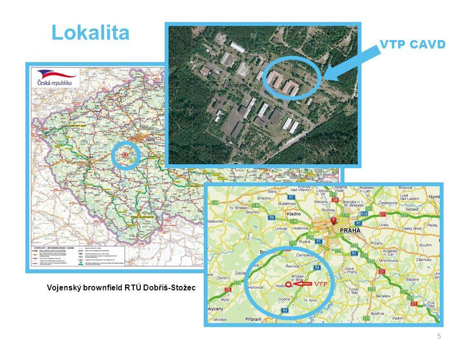 5 Lokalita Vojenský brownfield RTÚ Dobříš-Stožec VTP CAVD