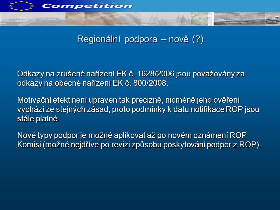 Odkazy na zrušené nařízení EK č. 1628/2006 jsou považovány za odkazy na obecné nařízení EK č.