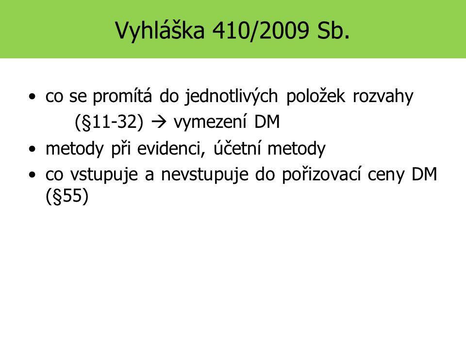 Vyhláška 410/2009 Sb.