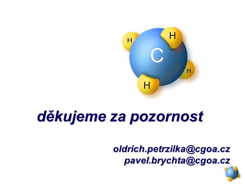 děkujeme za pozornost děkujeme za pozornostoldrich.petrzilka@cgoa.czpavel.brychta@cgoa.cz