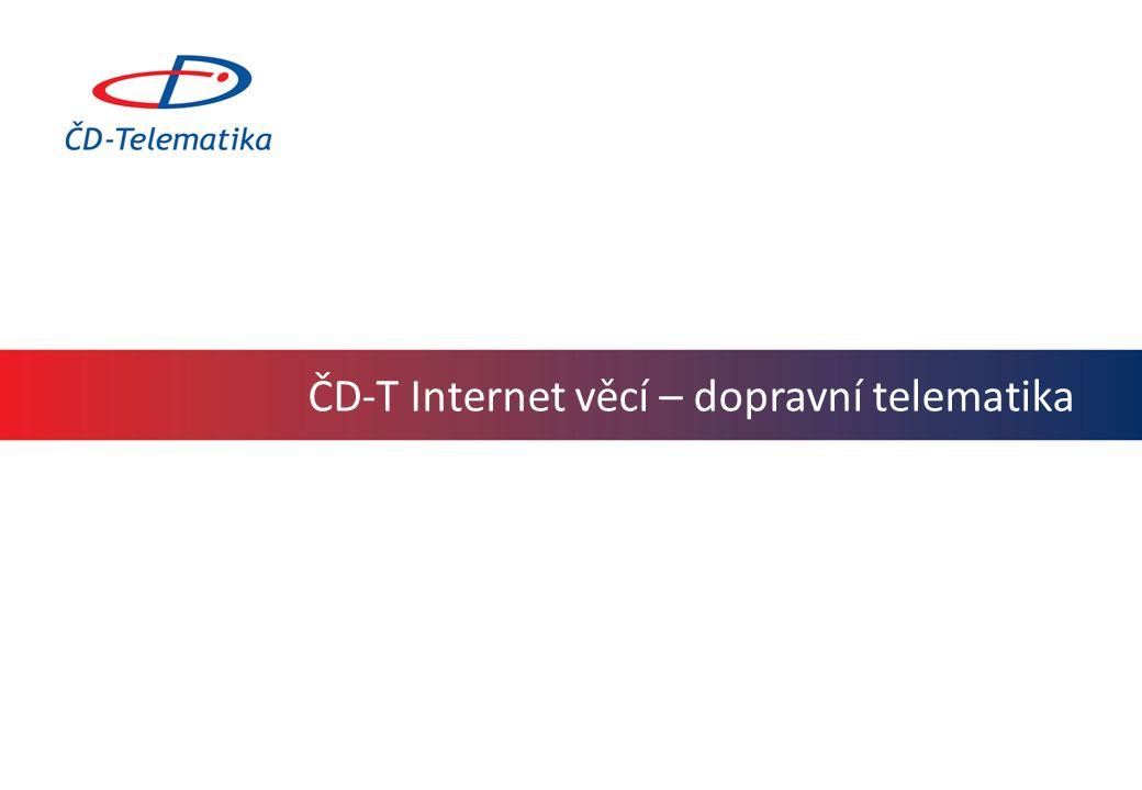 ČD-T Internet věcí – dopravní telematika