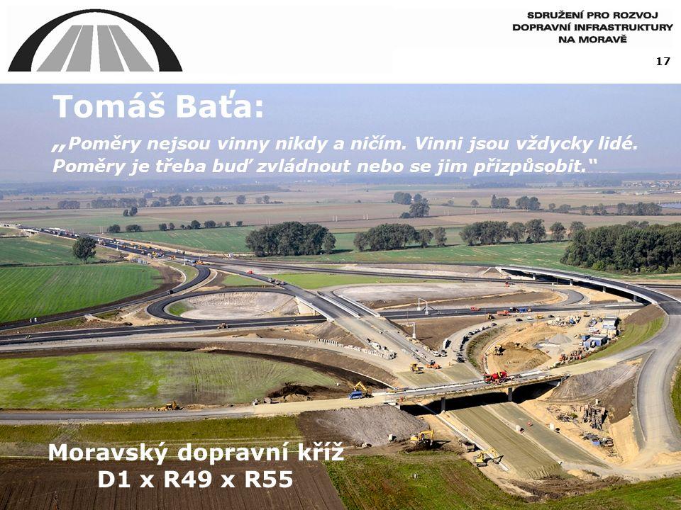 """17 Tomáš Baťa: """" Poměry nejsou vinny nikdy a ničím."""