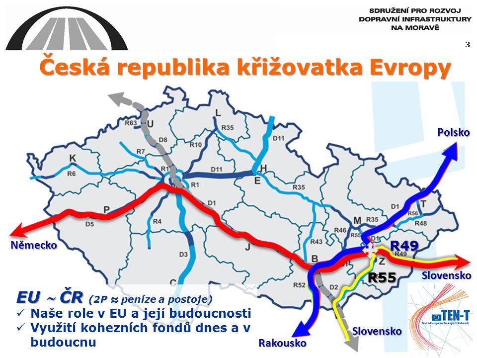 stávající nastavení financování projektů dopravní infrastruktury s využitím národních, ale i evropských zdrojů je nestabilní, a vyvíjí se v každém fiskálním období nahodile.