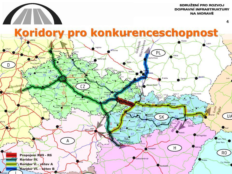 Koridory pro konkurenceschopnost 4