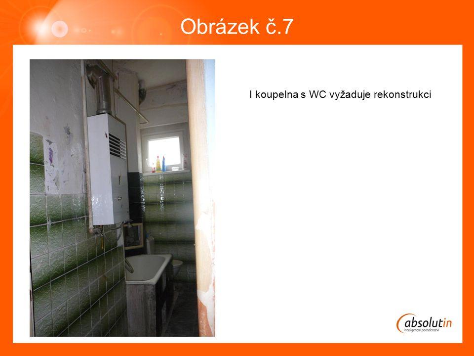 Obrázek č.7 I koupelna s WC vyžaduje rekonstrukci