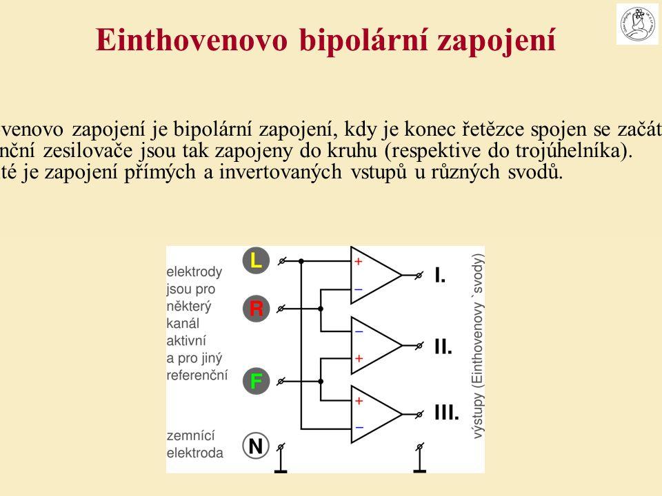 Einthovenovo zapojení je bipolární zapojení, kdy je konec řetězce spojen se začátkem.