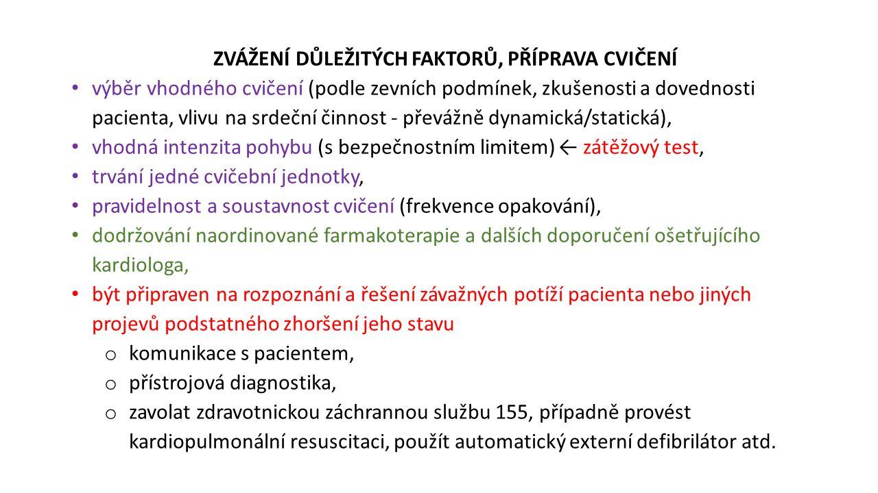 PORUCHY RYTMU Abnormní excitace, bloky vedení (síň, komory) Komorové extrasystoly, kuplety, triplety, salvy, tachykardie, fibrilace.