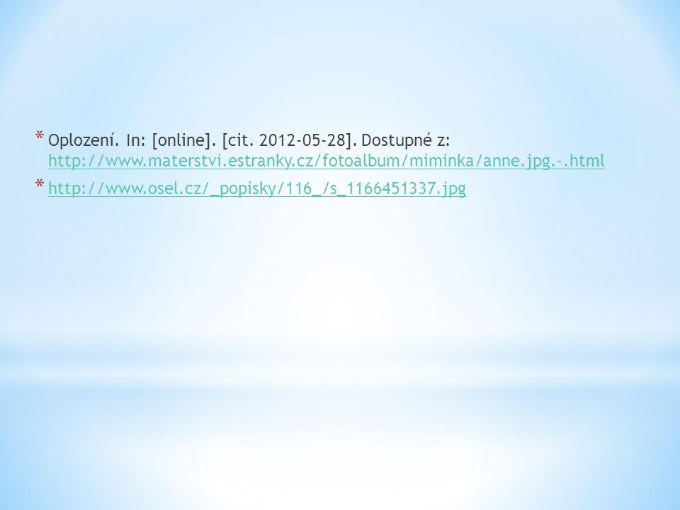 * Oplození. In: [online]. [cit. 2012-05-28].