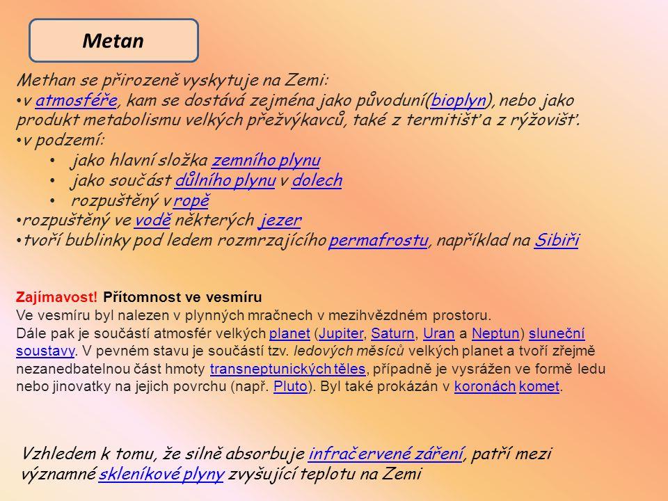 http://cs.wikipedia.org/wiki/Methan http://cs.wikipedia.org/wiki/Ethan Zdroje a citace: http://cs.wikipedia.org/wiki/Uhlovod%C3%ADky http://cs.wikipedia.org/wiki/Cukr Obrázky: www.office.microsoft.com Vlastní tvorba, obrázky vytvořené za pomocí programu Microsoft Power Point – kreslení, klipart, obrázky z vlastních zdrojů http://upload.wikimedia.org/wikipedia/commons/4/46/Mol_geom_isobutan.PNG http://www.chatar-chalupar.cz/wp-content/uploads/2012/12/01.jpg http://www.primagas.cz/nabidka-propanu-a-butanu/images/full-size/zasobnik-domek-lpg1.jpg http://www.zalevno.cz/image/3149/314999.jpg