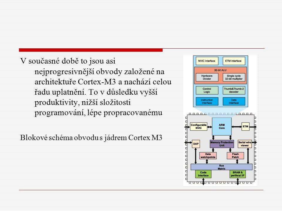 Procesory založené na architektuře Cortex-M3 jsou hierarchickou skupinou obsahují základní jádro (CM3Core) rozšířené periferie, mechanismy pro řízení přerušení, ochranu a přístup k paměti atd.