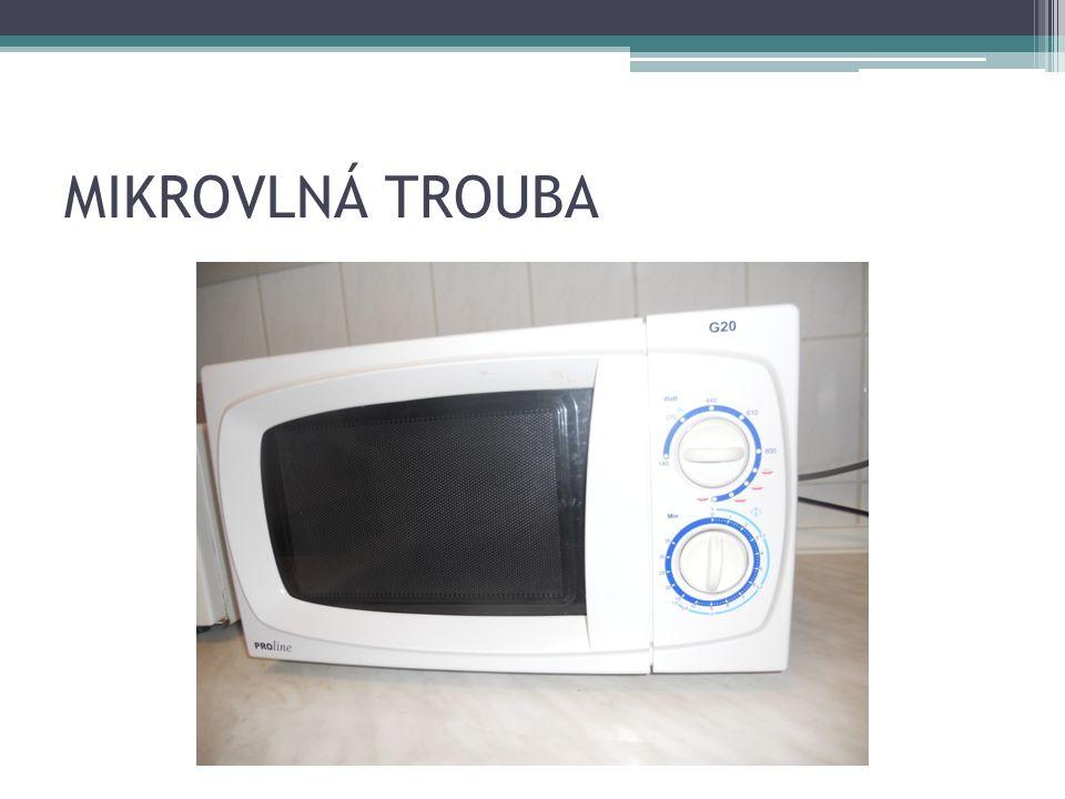 MIKROVLNÁ TROUBA