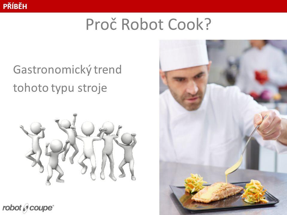 Proč Robot Cook.Proč šéfkuchaři kupují kuchyňské roboty.
