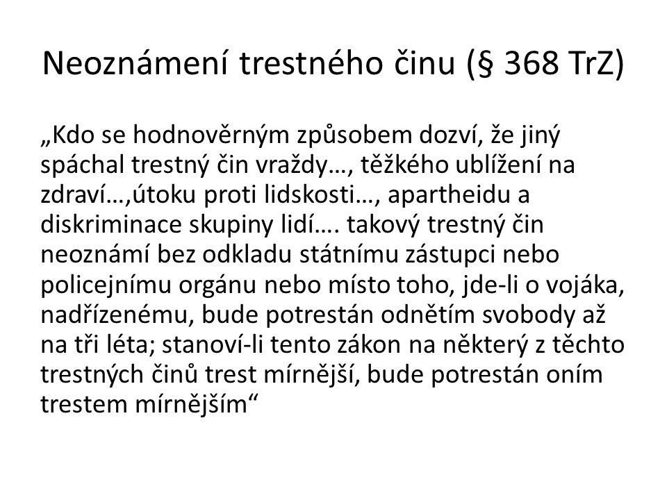 § 403 Znění v zákoně č.140/1961 Sb. trestní zákon.