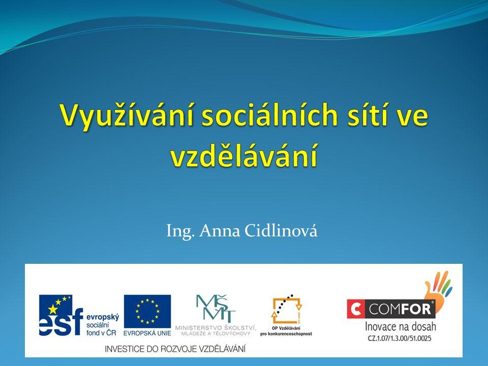 Ing. Anna Cidlinová