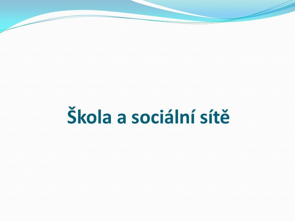 Škola a sociální sítě