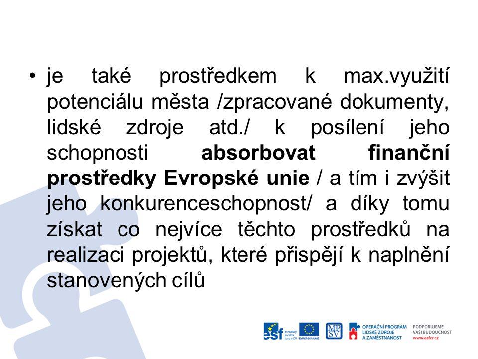 ODBORNÉ PRACOVNÍ SKUPINY Za účelem projednání jednotlivých prioritních os z odborného hlediska byla vytvořená skupina 15 volených zástupců města + 3 členové MěÚ Tišnov: