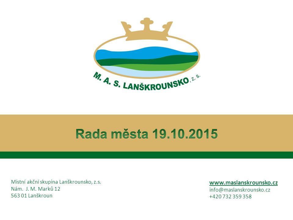 Místní akční skupina Lanškrounsko, z.s.Nám. J. M.