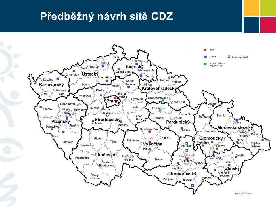 Předběžný návrh sítě CDZ