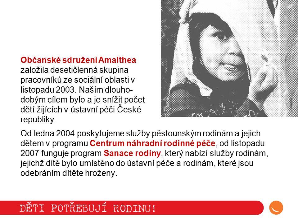 11 tisíc dětí v České republice vyrůstá v dětském domově nebo jiném ústavním zařízení.