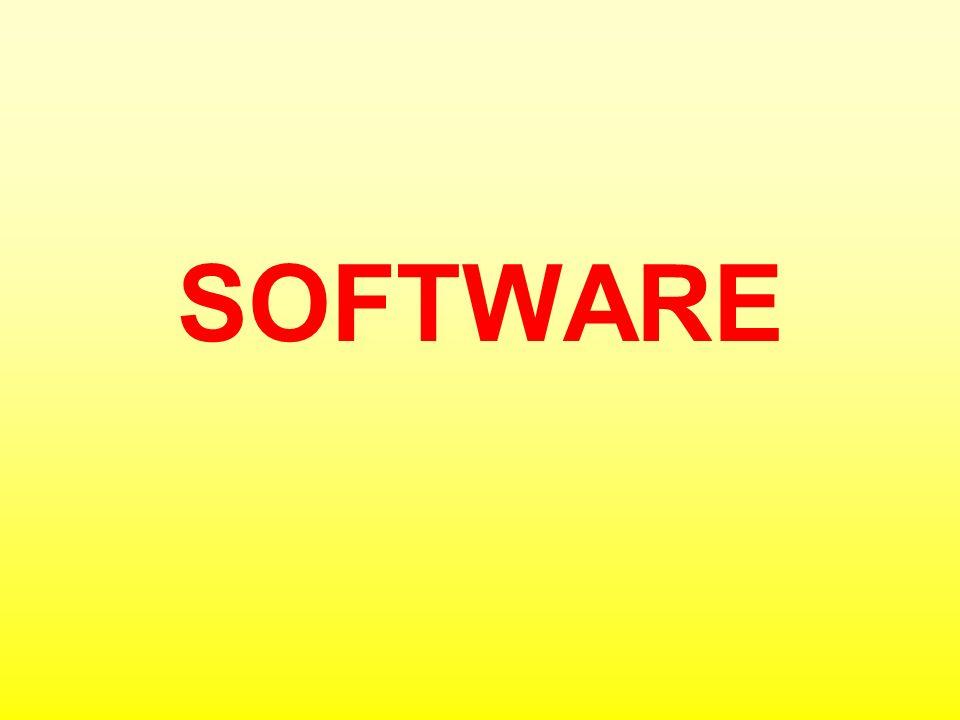 ROZDĚLENÍ SOFTWARU OPERAČNÍ SYSTÉM Základní programové vybavení každého moderního počítače, obstarává komunikaci mezi uživatelem a hardwarovým rozhraním počítače.