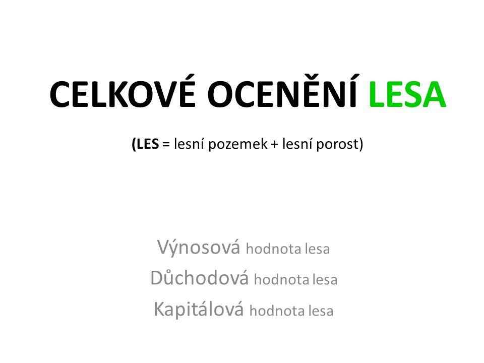 43 Průměrný hospodářský výsledek vlastníků lesa v ČR (pouze za lesnickou činnost bez příspěvků na hospodaření v lesích) podle forem vlastnictví v Kč/ha Forma vlastnictví ZISK před zdaněním 2010201120122013 Státní lesy 1 9684 0174 1193 822 Obecní lesy 2 6952 6962 5232 881 Soukromé lesy 3 2683 1953 3714 008 PRŮMĚR 2 3953 6103 6983 724 Zdroj: Zelená zpráva (MZe 2014) – tabulka č.
