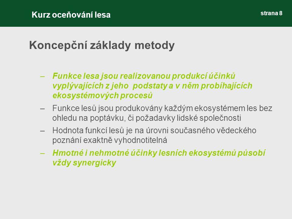 strana 19 Kódování porostních typů (PT) ve funkčních hospodářských souborech Příklady: C1 …..