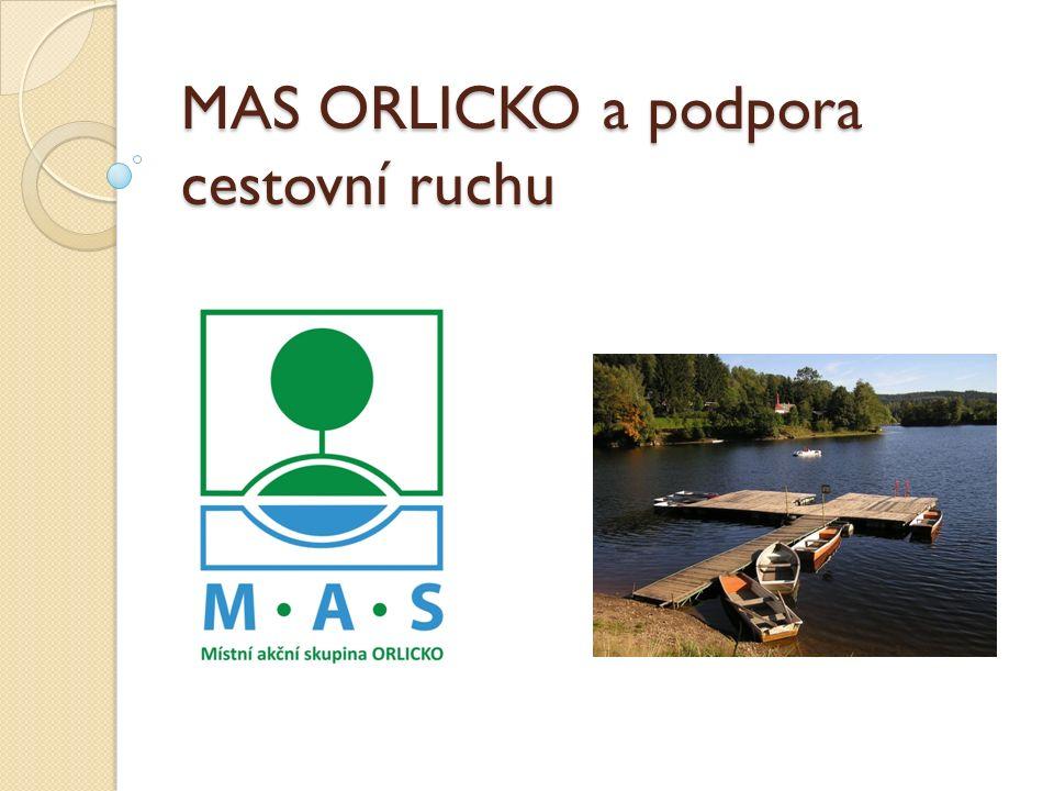 MAS ORLICKO a podpora cestovní ruchu