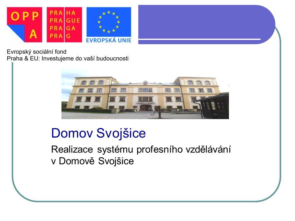 PEČOVATELSKÉ CENTUM PRAHA 7 Domov Svojšice Realizace systému profesního vzdělávání v Domově Svojšice