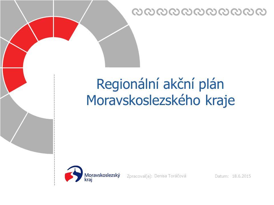 Datum: Zpracoval(a): 18.6.2015 Regionální akční plán Moravskoslezského kraje Denisa Toráčová