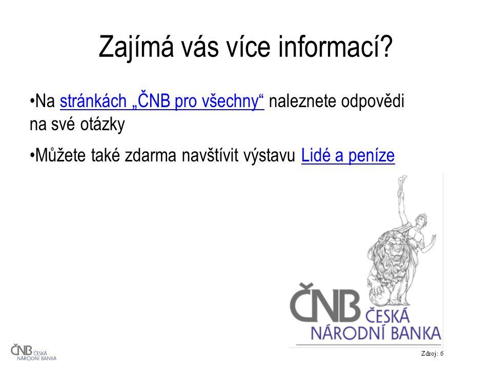 Zajímá vás více informací.