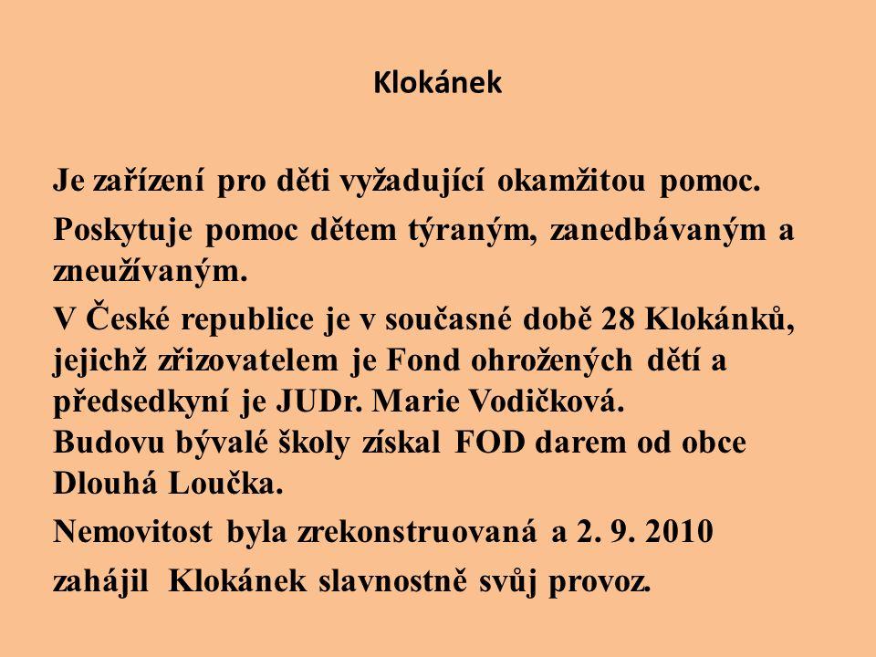 JUDr.Marie Vodičková - předsedkyně FOD Mgr. Šárka Kupčáková – vedoucí zařízení Mgr.